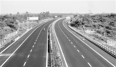 """海南""""田""""字形公路规划初见雏型 海屯高速29日开通"""