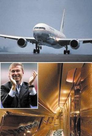 """世界最豪华的私人飞机:""""阿布拉莫维奇天空""""号"""