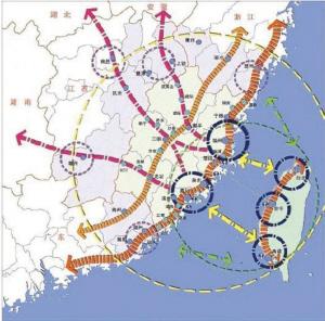 新疆到海南地图